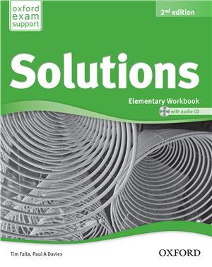 Solutions Elementary WorkBook 2Ed