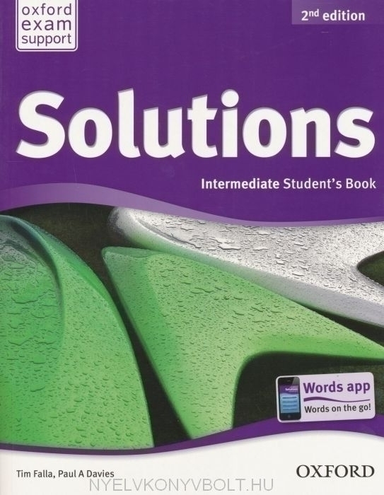 Solutions Intermediate Student Book 2Ed