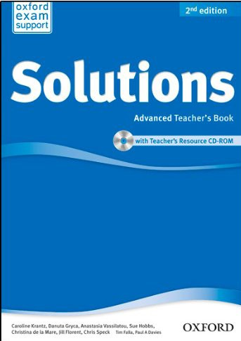 Solutions Advanced: Teacher's Book And CD-Rom Pack