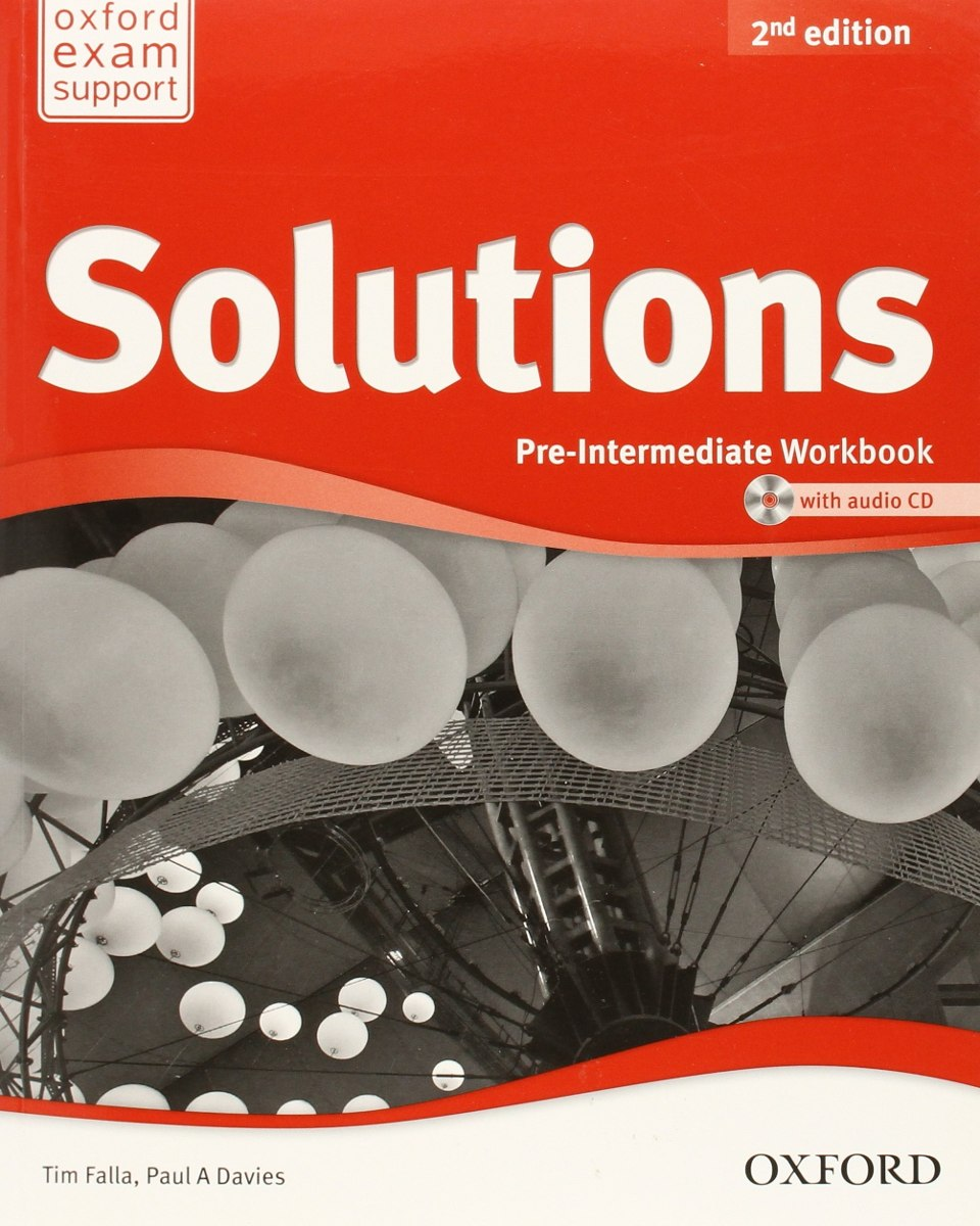 Solutions Pre-Intermediate WorkBook 2nd Edition ( with audio CD )