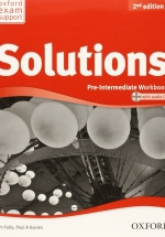 Solutions Pre-Intermediate WorkBook 2Ed