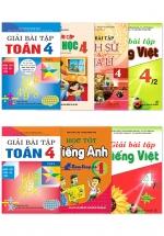Combo Sách Giải Toán - Tiếng Việt Lớp 4