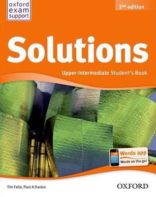 Solutions Upper - Intermediate Student's Book 2Ed