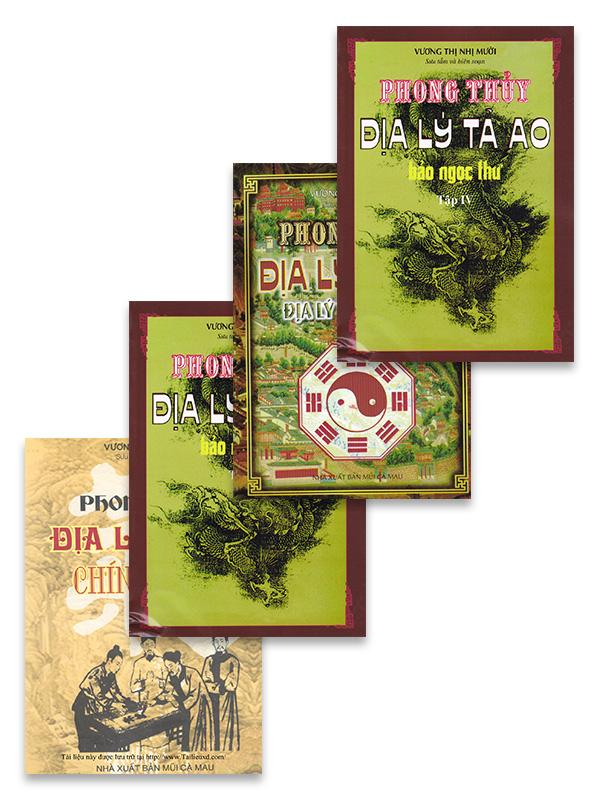Combo Phong Thủy Địa Lý Tả Ao (Trọn bộ 4 cuốn)