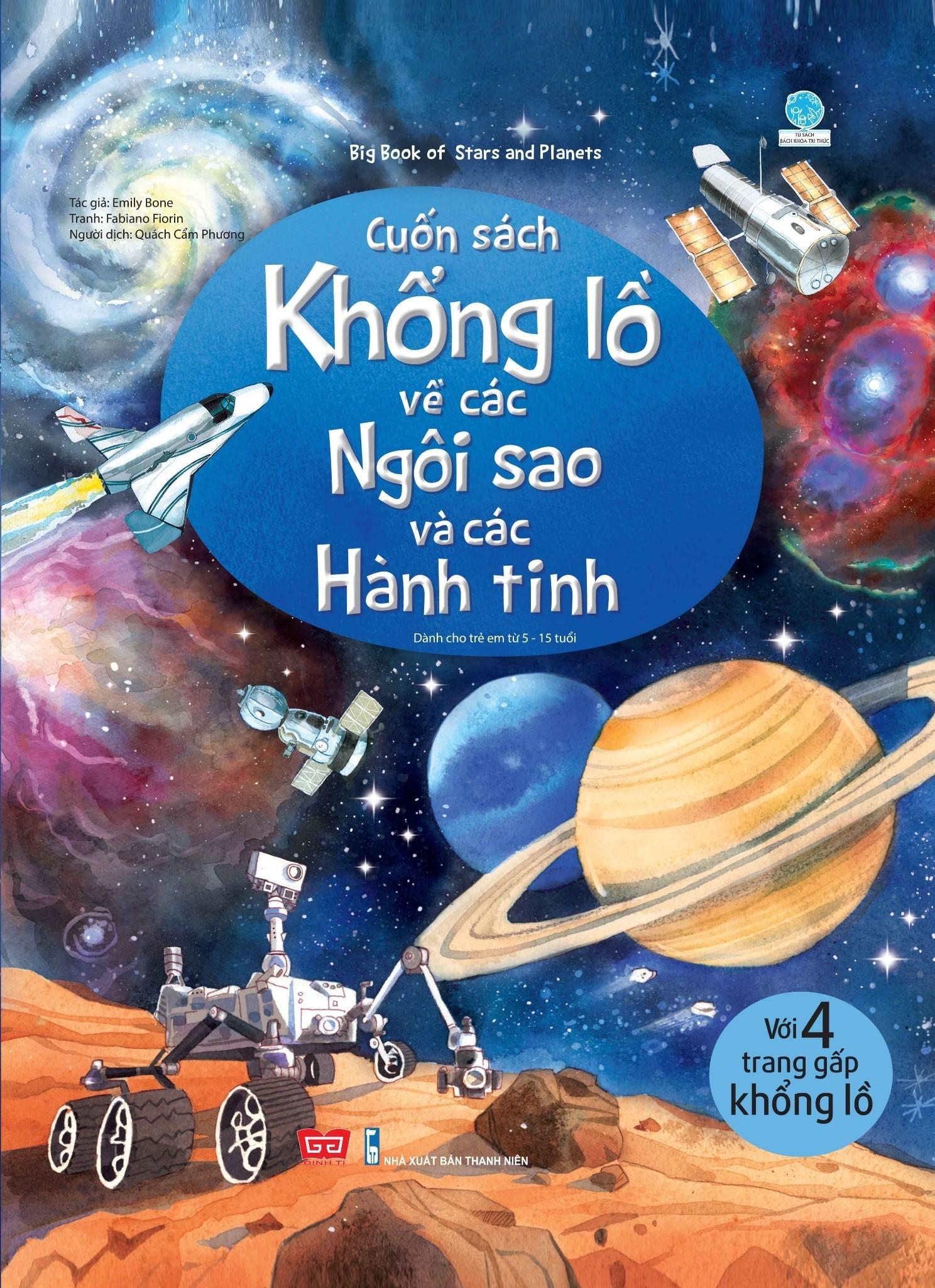 Big Book - Cuốn Sách Khổng Lồ Về Các Ngôi Sao Và Các Hành Tinh (Tái Bản)