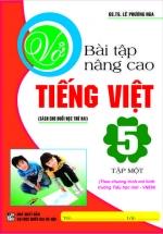 Vở Bài Tập Nâng Cao Tiếng Việt 5 Tập 1 - Chương Trình Tiểu Học Mới