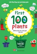 Lift-The-Flap - Lật Mở Khám Phá - First 100 Plants - 100 Từ Đầu Tiên Về Thế Giới Thực Vật