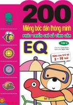 200 Miếng Bóc Dán Thông Minh Phát Triển Chỉ Số Tình Cảm EQ Tập 2 (Dành Cho Trẻ 2-10 Tuổi)