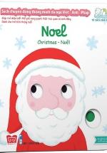 Sách Chuyển Động Thông Minh Đa Ngữ Việt - Anh - Pháp: Noel - Christmas - Noël