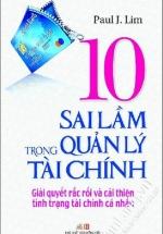 10 Sai Lầm Trong Quản Lý Tài Chính