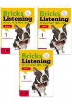 Combo Bricks Listening Beginner 1 - Bé Học Nghe Tiếng Anh