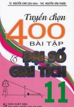 Tuyển Chọn 400 Bài Tập Đại Số Và Giải Tích 11