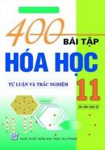 400 Bài Tập Hóa Học Lớp 11
