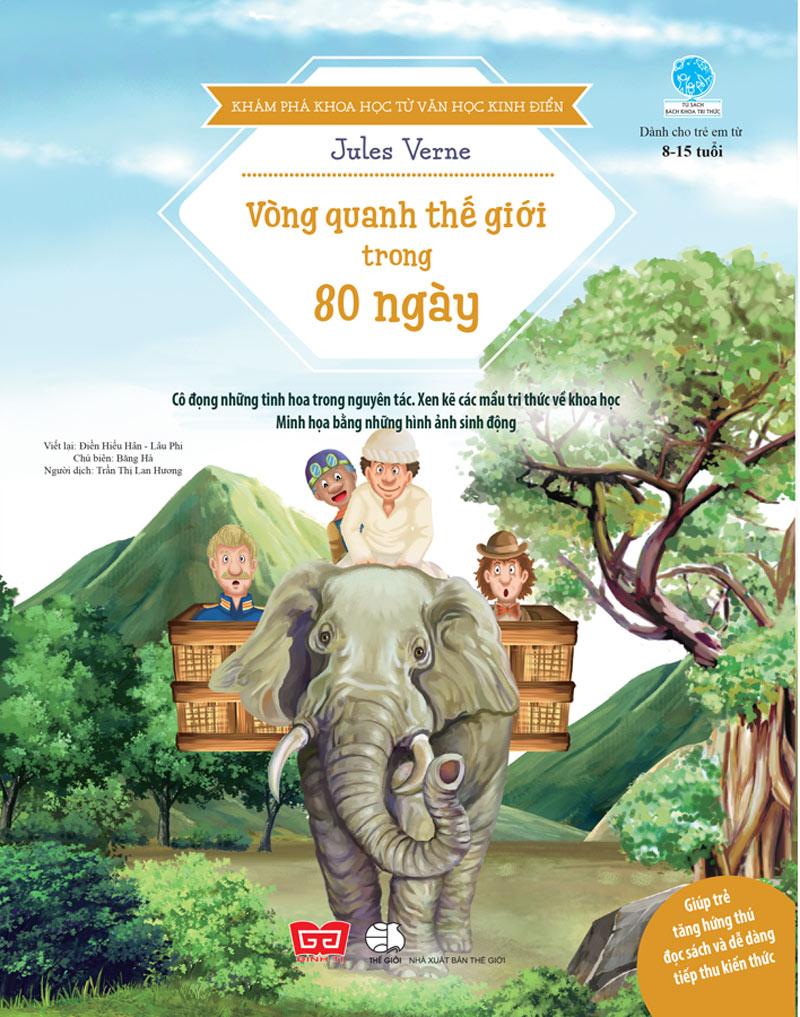 Khám Phá Khoa Học Từ Văn Học Kinh Điển - Vòng Quanh Thế Giới Trong 80