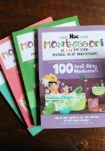 Combo Sách Học Montessori Để Dạy Trẻ Theo Phương Pháp Montessori (Trọn Bộ 4 Cuốn)
