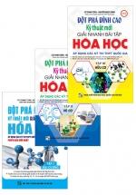 Combo Đột Phá Đỉnh Cao Kỹ Thuật Mới Giải Nhanh Bài Tập Hóa Học (Trọn Bộ 3 Tập)