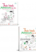 Set Sách Thực Hành Montessori Tại Nhà