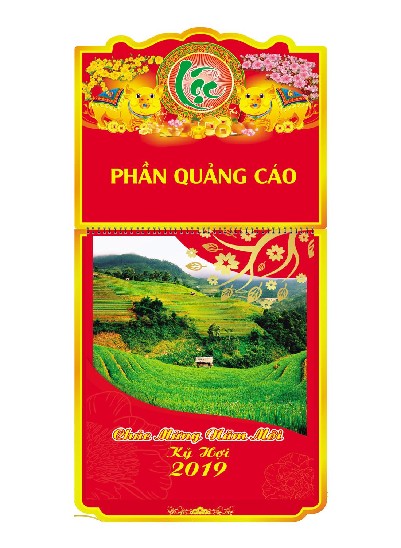 Lịch Treo Tường 52 Tuần 2019 (30x40cm) - Phong Cảnh - KV16