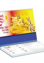 Lịch Để Bàn Chữ A 2019 Có Note (25x12cm) - Phong Thủy May Mắn