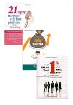 Combo 21 Ngày Nâng Cao Sức Hút Phát Biểu Trước Đám Đông + Đừng Để Tiền Ngủ Yên Trong Túi + Người Thành Công Có 1% Cách Nghĩ Khác Bạn
