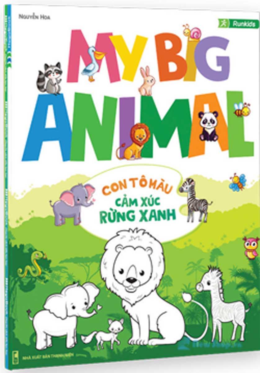 My Big Animal- Con Tô Màu Cảm Xúc Rừng Xanh