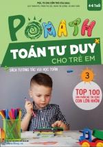 POMath - Toán Tư Duy Cho Trẻ Em 4-6 Tuổi Tập 3