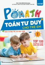 POMath - Toán Tư Duy Cho Trẻ Em 4-6 Tuổi Tập 1