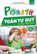 POMath - Toán Tư Duy Cho Trẻ Em 4-6 Tuổi Tập 4