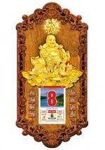 Lịch Gỗ 2020 Cao Cấp - Phật Di Lặc (39X79CM) - 3DP9-DL