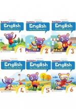 Combo Học Tiếng Anh Siêu Thú Vị : Sách Học 1-6
