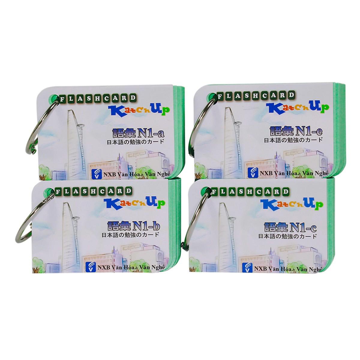 Bộ KatchUp Flashcard Từ Vựng N1 (Soumatome N1) - High Quality