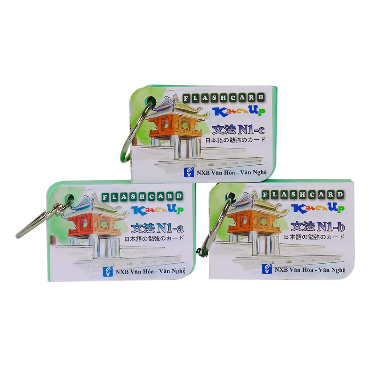 Bộ KatchUp Flashcard Ngữ Pháp N1 (Soumatome N1) - High Quality