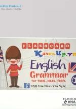 Bộ KatchUp Flashcard Ngữ Pháp Tiếng Anh – Standard