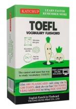 Bộ KatchUp Flashcard TOEFL B - High Quality - Xanh