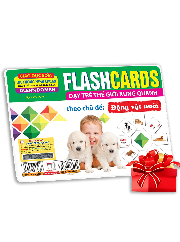Flashcards  - Động Vật Nuôi (Thẻ Tái Bản)