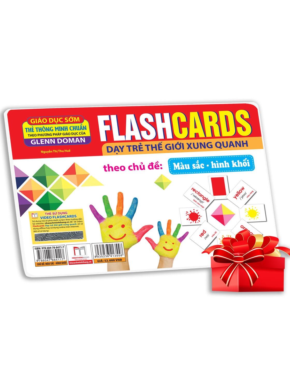 Flashcards - Màu Sắc-Hình Khối (Thẻ Tái Bản)