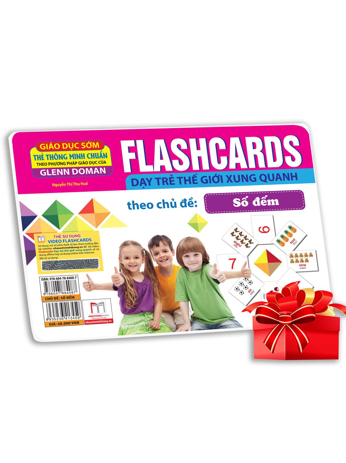 Flashcards  - Số Đếm (Thẻ Tái Bản)