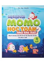 Momo Học Toán Như Thế Nào - 4 Tuổi