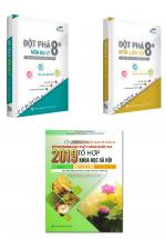 Combo Sách Luyện Thi THPT 2019 Tổ Hợp Khoa Học Xã Hội