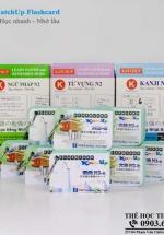 Combo Trọn Bộ KatchUp Flashcard Trung Cấp Tiếng Nhật N2 – High Quality