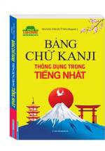 Bảng Chữ Kanji Thông Dụng Trong Tiếng Nhật