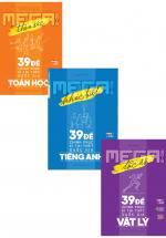 Combo Mega Luyện Đề 2019 - Chinh Phục Kì Thi THPT Quốc Gia Bộ Môn Toán - Lí - Anh