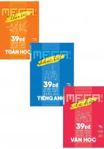 Combo Mega Luyện Đề 2019 - Chinh Phục Kì Thi THPT Quốc Gia Bộ Môn Toán - Văn - Anh
