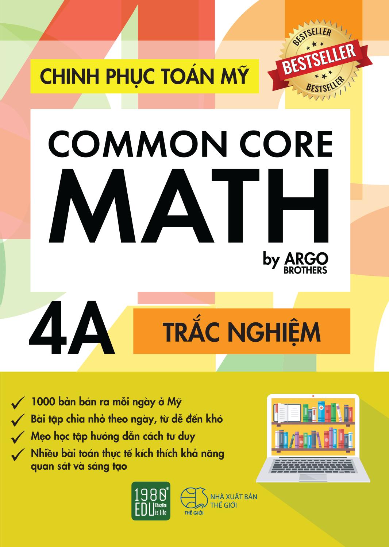 Chinh Phục Toán Mỹ - Common Core Math (Tập 4A)