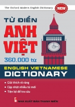 Từ Điển Anh Việt 360.000 Từ ( Khang Việt)