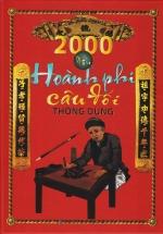 2000 Mẫu Hoành Phi Câu Đối Thông Dụng