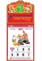 Lịch Treo Tường 52 Tuần 2016 - Phong Thủy