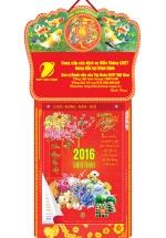 Lịch Bloc Đại Đặc Biệt 2016 (16x24) - Tranh Sơn Dầu
