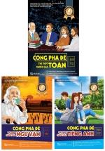 Combo Công Phá Đề Thi THPT Quốc Gia 2019 môn Toán - Ngữ Văn - Tiếng Anh