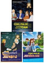 Combo Công Phá Đề Thi THPT Quốc Gia 2019 môn Toán - Vật Lí - Tiếng Anh